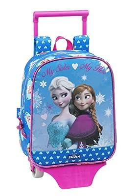 Disney Frozen-La Reina De Hielo De Los Dibujos, Elsa y Anna, Mini Mochila con ruedas (S280), diferentes motivos por Disney
