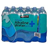 KIRKLAND SIGNATURE Alkaline Water, 33.8 Fl Oz (Pack of 18)