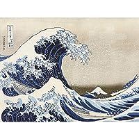 Hokusai 36 Views Fuji Great Wave Kanagawa Japan Large Wall Art Poster Print Thick Paper 18X24 Inch 見る すばらしいです 日本 壁 ポスター印刷