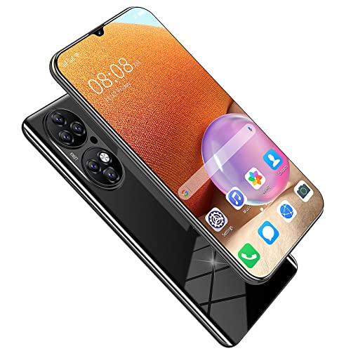 SYJY Smartphone con Pantalla de caída de 6,7 Pulgadas, teléfono móvil Android Desbloqueado, Android 11.0, identificación de Huellas Dactilares, 8 GB + 128 GB, batería de Larga...