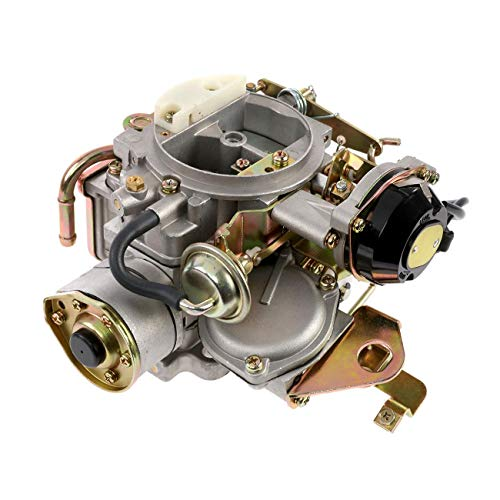 Partol Car Carburetor for Nissan 720 Pickup 2.4L Z24 Engine for 1983-1986 Pathfinder and 1994-2004 Pickup - Automatic Choke, Replace OE:16010-21G61