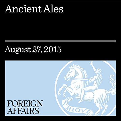 Ancient Ales audiobook cover art