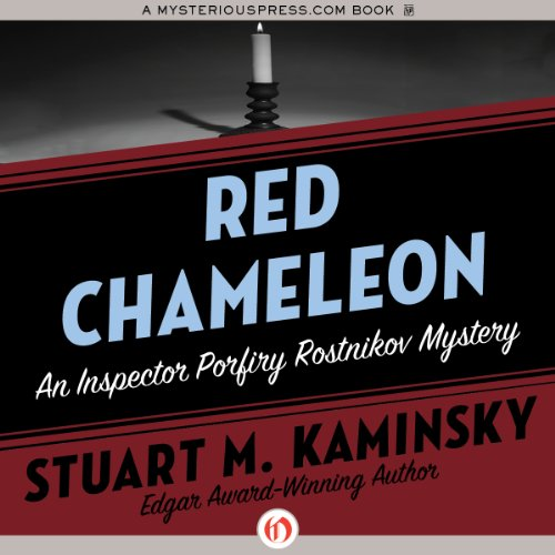 Red Chameleon audiobook cover art