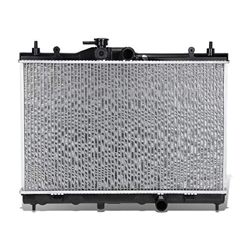 DNA Motoring OEM-RA-13127 13127 Aluminum Core Radiator (For 09-14 Nissan Cube),Black / Metallic