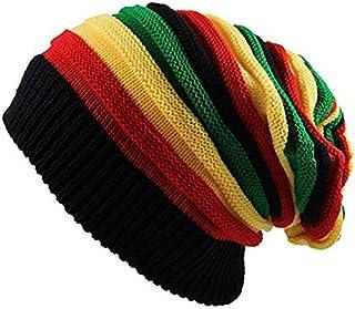 EchoMerx Reggae Baggie Beanie Hat Rasta