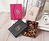 VICTORIA'S SECRET TRIFOLD TRAVEL PASSPORT COVER AND ID HOLDER 4 COLORS FITS ANY PASSPORT (BEIGE)