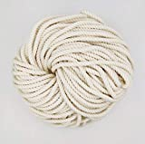 Length-25 Meter Color: White A quality and heavy duty thread developed with the finest Craft items Material: Cotton rope