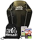 Nuzari Motorcycle Storage - Motorcycle Covers - Waterproof Motorcycle Cover - Dirt Bike Cover - Scooter Cover - Moped Cover L