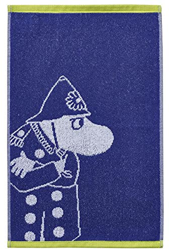 Finlayson Moomin Police Inspector - Toalla de rizo (30 x 50 cm)
