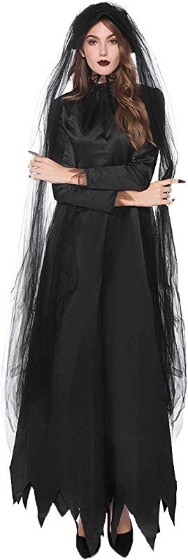 PerfectCOCO Halloween Costumes For Women Cosplay Dresses Bloodsuck Earl Dress Masquerade Party Dress Ball Gown