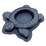 AUTUMN Turtle Planter Mold, Concrete Cement Mold, Large Concrete Mold for Planters, Tortoise Planter, DIY Turtle Statue for Garden, Turtle Garden Decor Mold Planter, Made in USA