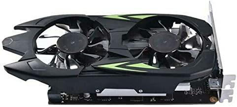 Fishoo Durable Cooler Fan Host Graphics Cards Game Computer Part GTX 1050 Ti 4G DDR5