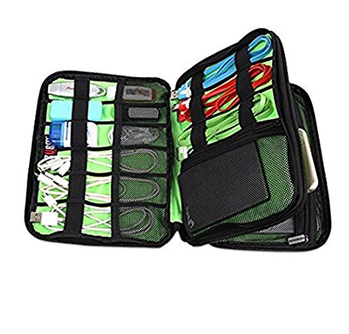 BUBM Double Layer 2Compartments 2Zipped Storage Bag Dispatch from Germany for geocaching Tools with Multiple Compartments, PDA, iPad Case