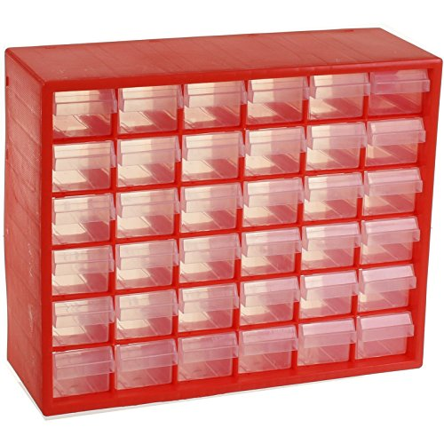 Marko Tools 36 Drawer Tool Organiser Screw Nut Bolt Nail Fixings Storage Chest Garage Shed