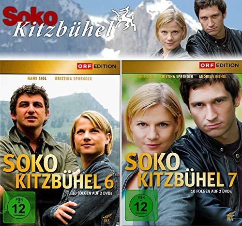 SOKO Kitzbühel - Box 6+7 (4 DVDs)