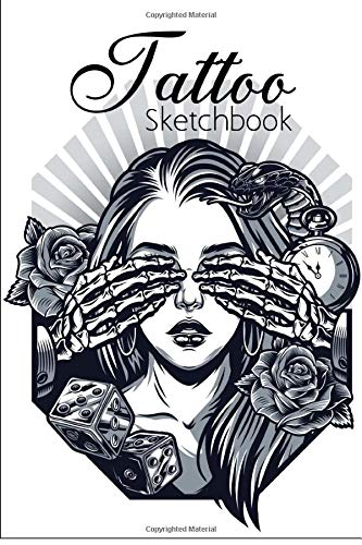 Tattoo Sketchbook: For Professional Tattooists And Students | With Space To Plan Out The Placement Of The Tattoo On The Body