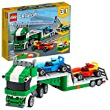LEGO Creator 3in1 Race Car Transporter 31113 Building Kit; Makes a Great Gift for Kids Who Love Fun Toys and Creative Building, New 2021 (328 Pieces)