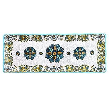 Le Cadeaux Allegra Baguette Tray, Turquoise