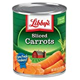 Libby's Sliced Carrots | Appealingly Tender & Deliciously Sweet | Vibrant Orange Slices | Farm Fresh Goodness | No Preservatives | 8.25 ounce cans (Pack of 12)