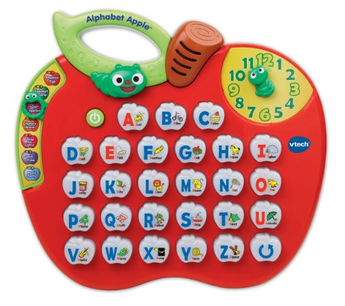 VTech Alphabet Apple,Red