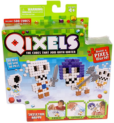 Qixels Theme Refill Pack - Skeleton Army