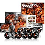 Insanity Exercise Shaun T DVD, Fast and Furious Complete Workout with Nutrition Guide