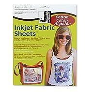 Jacquard Inkjet Cotton 8.5X11 10 Pack