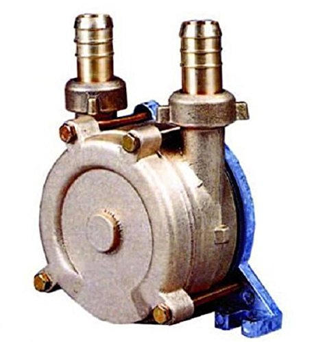 Kreiselpumpe 1400 l/h - Förderhöhe 20 m- Modell Drill-14 - Anschlusszapfen Ø 14 mm für Bohrmaschine