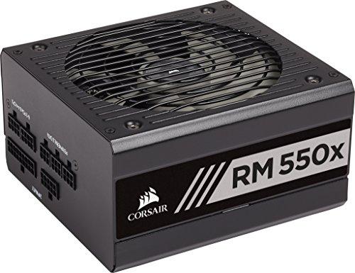Corsair RM550x Alimentation PC (Modulaire Complet, 550 Watt, 80 PLUS Gold) Noir