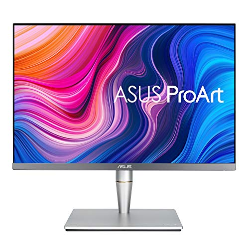 ASUS PA24AC 24' (24.1') (16:10) Monitor Professionale, 1920 x 1200, IPS, 100 % sRGB, △E 2, DisplayHDR 400, DP over USB-C, DP, HDMI, USB 3.0