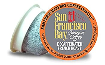 San Francisco Bay Coffee OneCup 72 ct Decaf French Roast