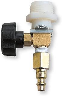 Allegro Industries 9992 Adjustable Flow Control Valve with Belt and Hansen Fitting, Standard