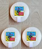 FASTRIM 3 Roll of 3 mm 50 m Square/White/Grass Cutter/Nylon Trimmer line