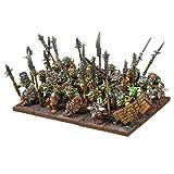 KINGS OF WAR 20 x Goblin guerreros régimen de los Orcos y Goblins   Posibles combates a distancia   Tabletop de plástico modelos de 28 mm de escala
