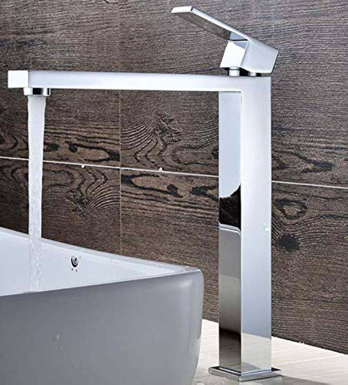 Becken Wasserhahnmessing-Hoher Krperbassin-Hahn-Heies Und Kaltes Wasser-Einzelner Badezimmer-Mischer-Wasserhahn