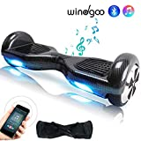 Wingoo Hoverboard 6.5 Pouces Overboard Bluetooth Auto-équilibrage Scooter, 2*250W Smart Gyropode,...