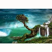 大人のためのジグソーパズル300/500/1000/1500ピース美しい風景家の壁の装飾(Size:300PCS)