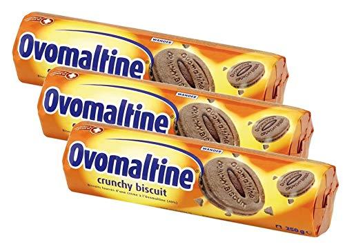 Ovomaltine Crunchy Biscuit 3er Pack, (3x250g)