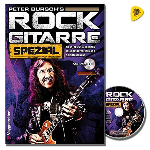 Peter Bursch's Rock Gitarre Spezial - Tipps, Tricks und Übungen in angesagten Sounds und Spieltechniken - Lehrbuch mit CD, Plek