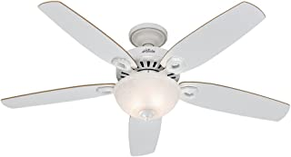 Hunter Builder Deluxe Indoor Ceiling Fan with LED Light...