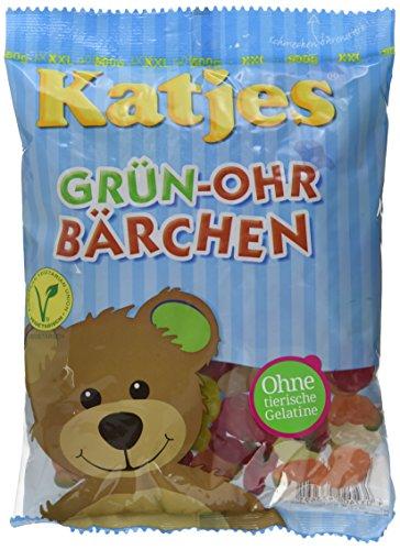 Katjes Grün-Ohr Bärchen, 12er Pack (12 x 500 g)