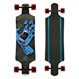 SANTA CRUZ Longboard Complete SCREAMING HAND MICRO DROP DOWN 9.34' x...