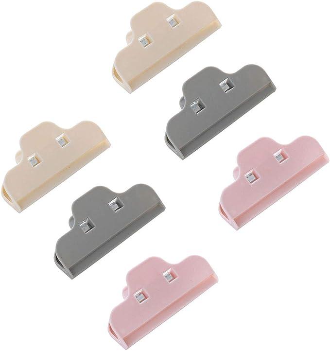 21 opinioni per Clip di tenuta per alimenti, 6 confezioni di clip di tenuta in plastica per la