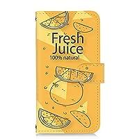 スマホケース 手帳型 カードタイプ arrows NX (F-04G) 用 パッケージ・オレンジ orange ジュースパック フェイクデザイン FUJITSU 富士通 アローズ エヌエックス docomo スマホカバー 携帯ケース スタンド juice 00l_109@05c