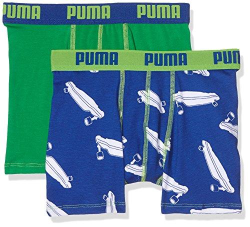 Puma Jungen Badehose 5650020015131 (2er pack), Bleu (Blue/Jelly Bean), 10 Jahre