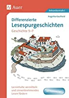 Differenzierte Lesespurgeschichten Geschichte 5-7: Lerninhalte vermitteln und sinnentnehmendes Lesen foerdern (5. bis 7. Klasse)