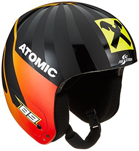 Atomic Unisex Redster Replica Race-Skihelm, S (55-56 cm), schwarz (Marcel), AN5005482S
