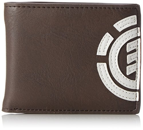 Monedero, 1 cm x 7 cm x 9 cm, para Hombre, de la Marca Element, Color Marrón, Talla Uni