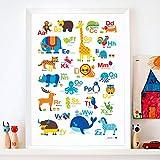 byGraziela Tier ABC Poster | Alphabet Poster | Lernposter |