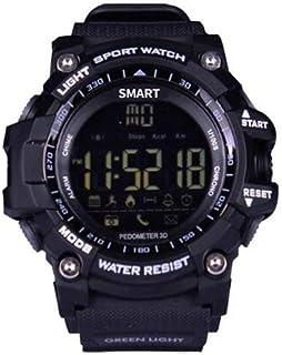 XNNDD Reloj Digital Hombres y Mujeres Reloj Deportivo La información Inteligente Recuerda a la batería de Larga duración. Reloj Profesional a Prueba de Agua